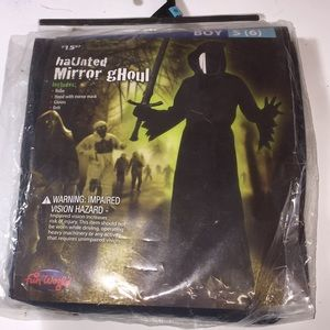 little boys haunted mirror ghoul costume NWT